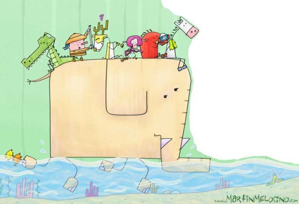 """""""Me vieron cara de bote inflable"""" de Eduardo Elgieser"""