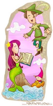 Sirenita - Peter Pan