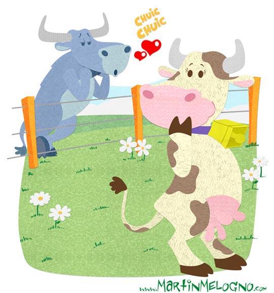 Vaca enamorada