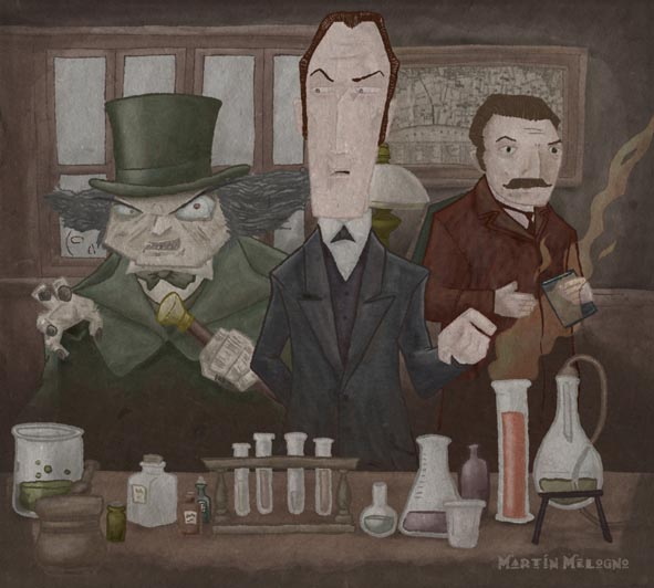 Mr.Holmes y Mr.Hyde