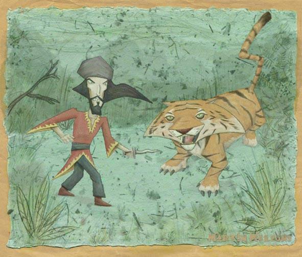 Sandokan contra el tigre