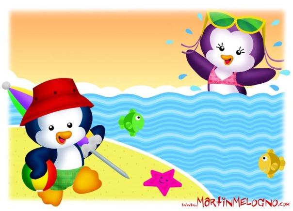 Pinguinos de vacaciones